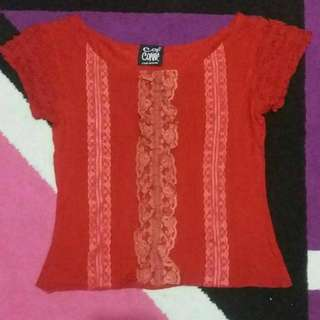 red bloise fit body