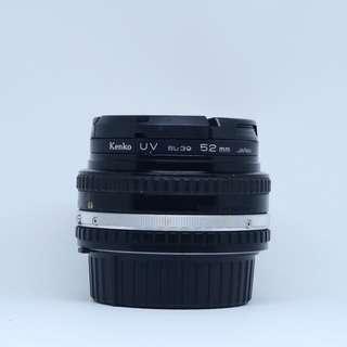 Nikon E Series 50mm 1:1.8