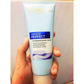 Loreal white perfect cleanser