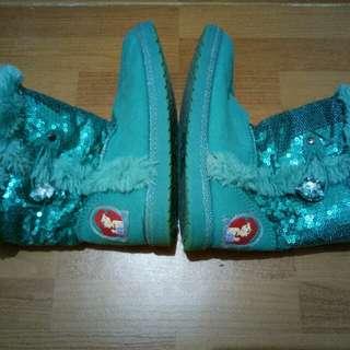 Brand:Payless:Little Mermaid Boots
