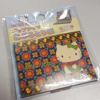 日本製 hello kitty面油紙