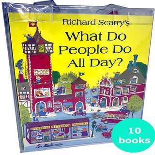 Richard Scarry Best Collection (10 books)