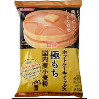 日清極致濃郁鬆餅粉