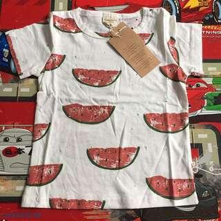 Brandnew Watermelon shirt (12-18m)