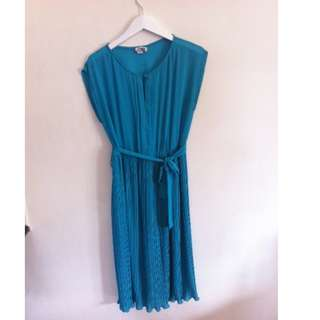Jade Green Vintage Dress Size 12