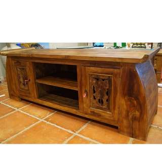 Solid Teak  TV Cabinet - PRICE REDUCED!