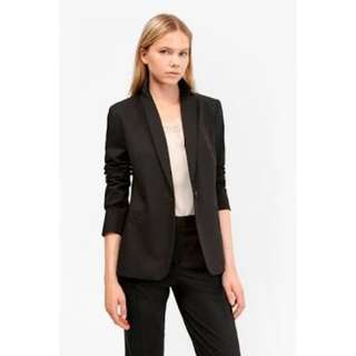 French connection black blazer