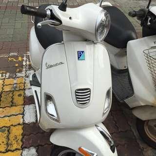 偉士牌Vespa LX125ie白色~誠意購買可議價限時優惠