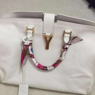 Authentic YSL Saint Laurent Large Classic Y Cabas