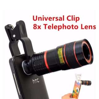 Universal 8X Optical Telescope For Mobile Phone