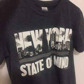 New York State of Mind tshirt