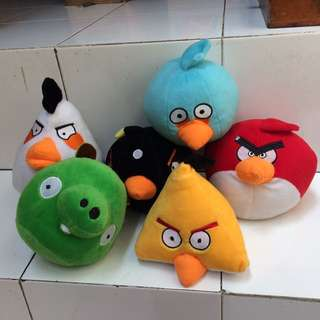 Boneka Angry Birds Ori [ALL]
