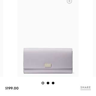 Kate Spade Wallet: NAVY BLUE