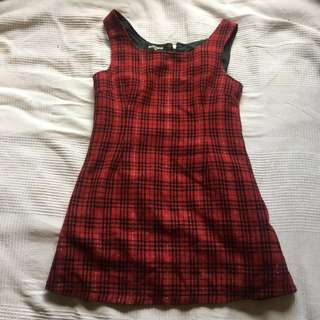 Dangerfield tartan dress