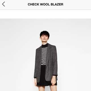 *price drop*Zara Jacket With Padded Shoulders
