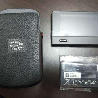 Blackberry Q10 original cover, spare battery and spare charger