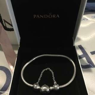 Pandora Bracelet with Pave Heart