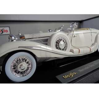 Maisto 1:18 Scale 1936 M-B 500 K Type Specialroadster Diecast Vehicle Manila Philippines gift toy collectible