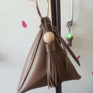 韓國 三角手提袋