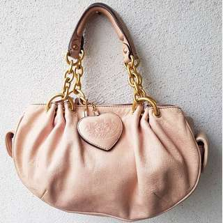 AUTHENTIC JUICY COUTURE GENUINE LEATHER BAG