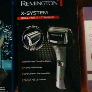 Brand new in box REMINGTON X-SYSTEM Electric Shaver.