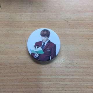 Taehyung BTS Badge