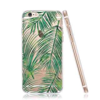 Tropical Leafs Case For Iphone6