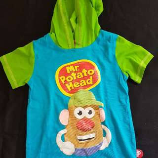 kaos playskool potato original