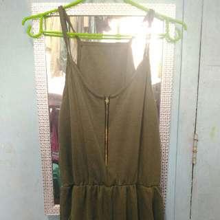 Moss Green Jumpsuit