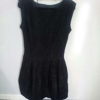 Savida black lace dress- Size 6-8