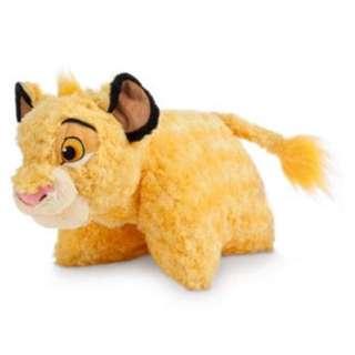 獅子王 辛巴 迪士尼玩偶抱枕 靠枕
