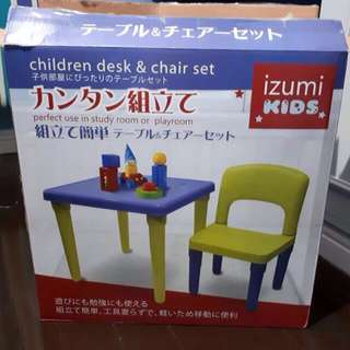 IZUMI Table & Chair For Toddlers