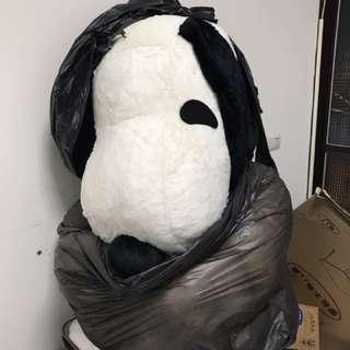 新*收藏*Snoopy 超大型玩偶