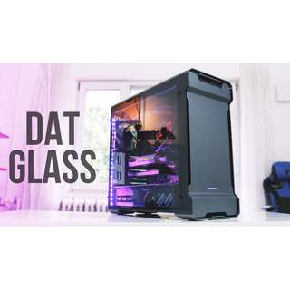 Phanteks Enthoo Evolv ATX Tower Case w/ Full Tempered Glass Side Panel (Satin Black or Anthracite Grey or Galaxy Silver)