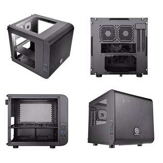 Thermaltake Core V1 Mini-ITX Case (Black)