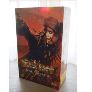 Hot Toys Jack Sparrow MMS42 Pirates of The Caribbean World's End
