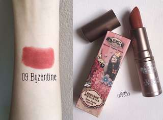 Beauty Cottage #09 Byzantine 豆沙紅 唇膏 添加蘆薈精華更滋潤 $118 現貨 旺中格仔鋪可供試色
