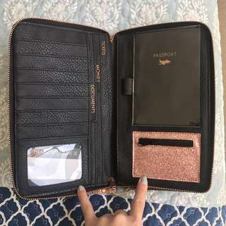 Typo passport travel case
