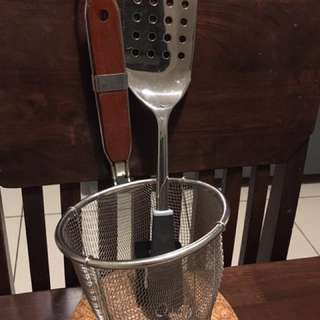 Quality Spatula and Strainer