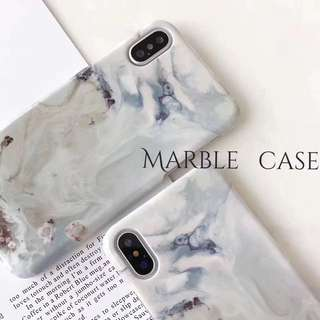 PO Marble iPhone 6/6+ 7/7+ 8/8+ X Case
