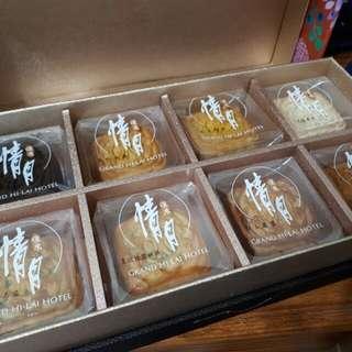 漢來飯店月餅