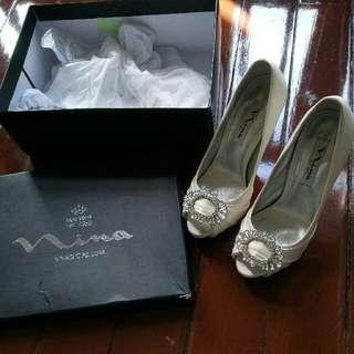 Sz 35 Bridal Wedding Shoes  High quality US brand
