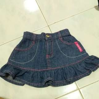 Girl jean skirt BABY KIKO Size M