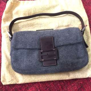 Fendi Baguette bag in Wool and Leather