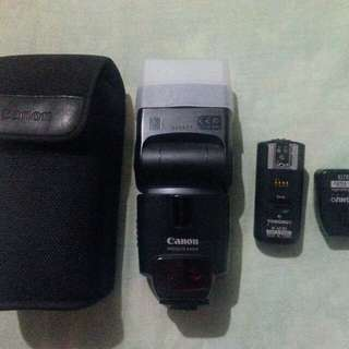 Canon speedlight TTL with yongnuo trigger