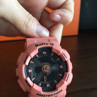 Baby G watch only like new