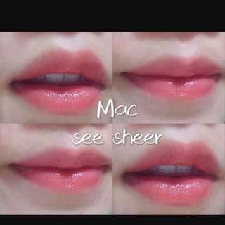 Mac See Sheer 最美西柚色
