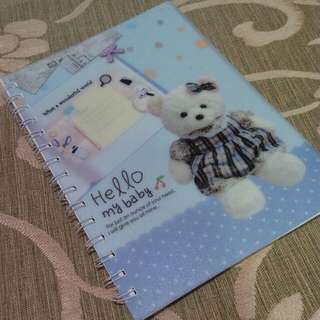 Notebook Teddy Bear