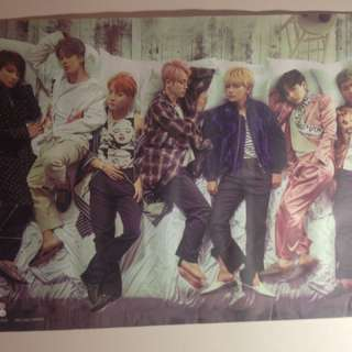 BTS WINGS Poster (official)