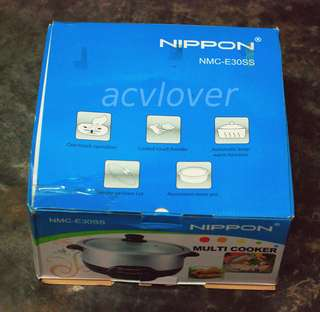 Going Cheap - Nippon NMC-30SS Multi Cooker